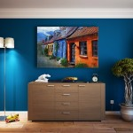 interior design blue colour scheme