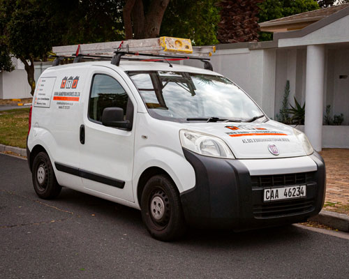 affordable handyman services Cape Town - vehicle branding handyman homes