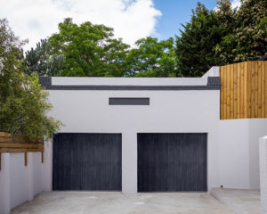 Vredehoek handyman project after garage doors painting