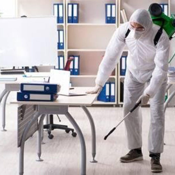 sanitising and deep cleaning services