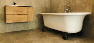 beautiful bath renovation