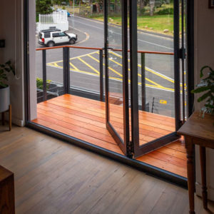 Cape Town home lighting decking balcony