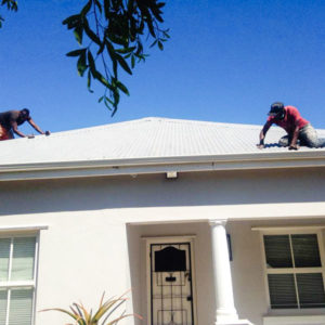 Roof painting and maintenance mowbray Cape Town Handyman Homes