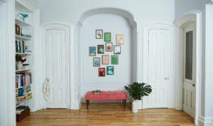 Hanging pictures pro framed