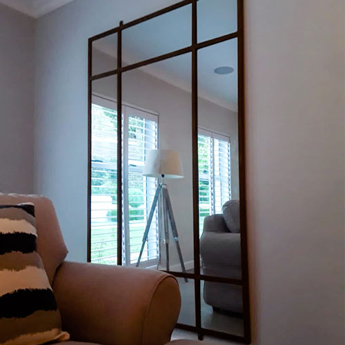 Wynberg hanging of mirrors artwork headboard and mounting of bathroom fittings